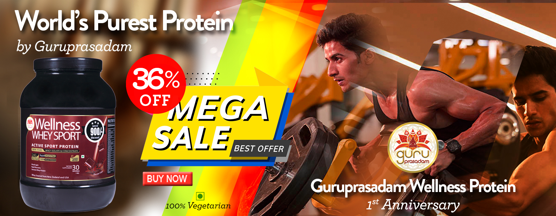 Purest Protein From Guruprasadam