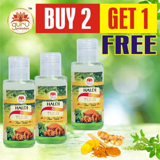 Haldi  & Tulsi Face Wash - Promotional Offer