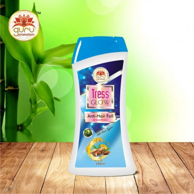 TRESS GLOW ANTI HAIR FALL SHAMPOO(200ML)