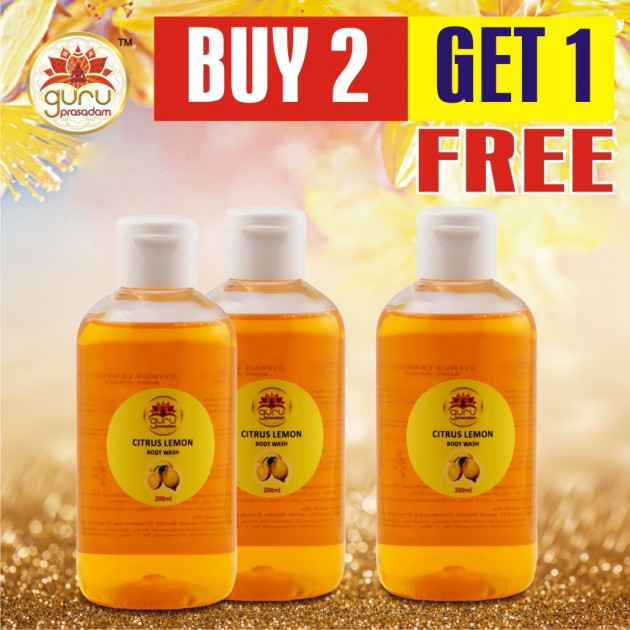 Body Wash - Citrus Lemon - Promotional Offer