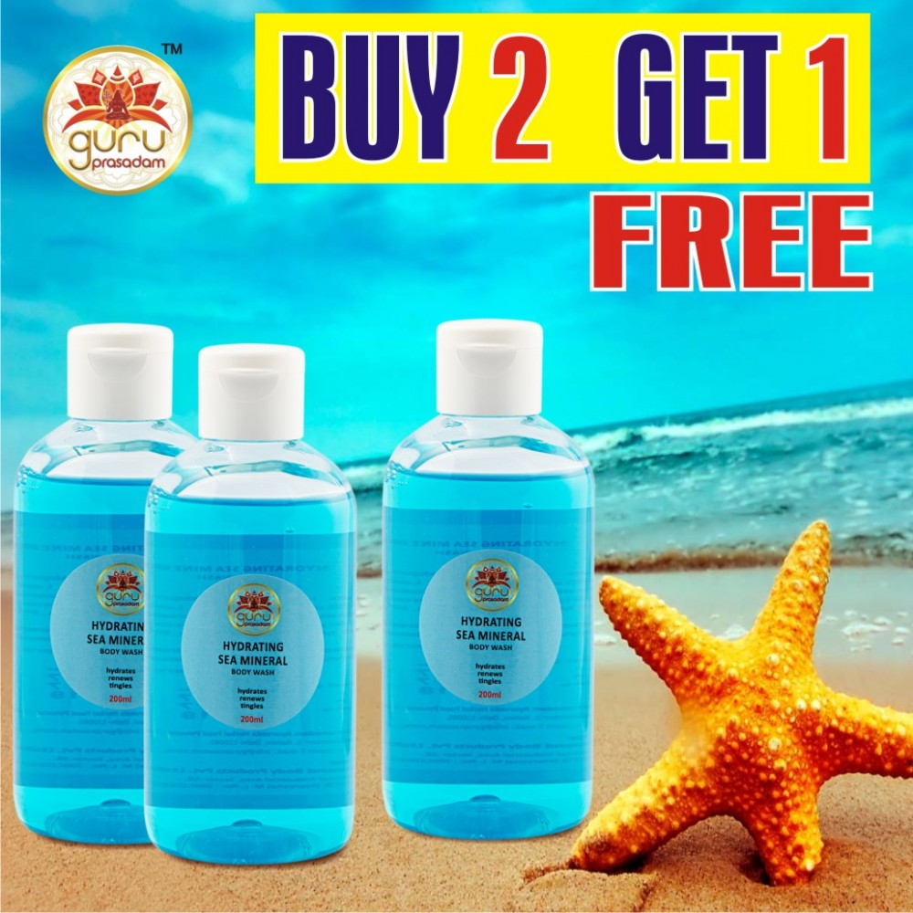 Body Wash - Hydrating Sea Mineral - Promotional Offer
