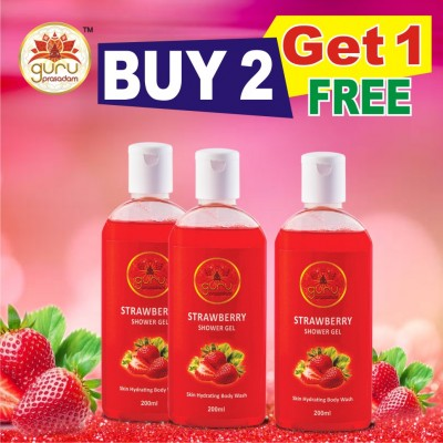Strawberry Shower Gel - Promotional Offe...