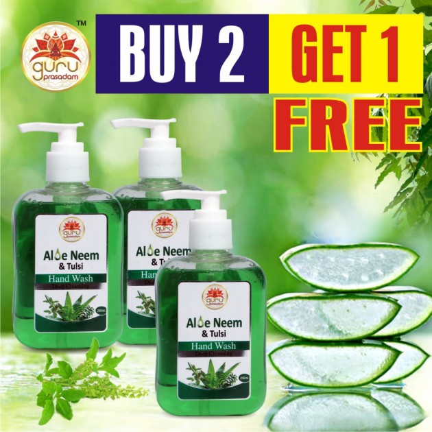Aloe Neem & Tulsi Hand Wash - Promotional Offer