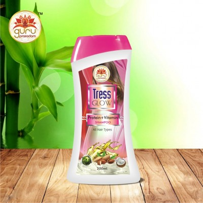 TRESS GLOW PROTIEN+VITAMIN SHAMPOO 200ML