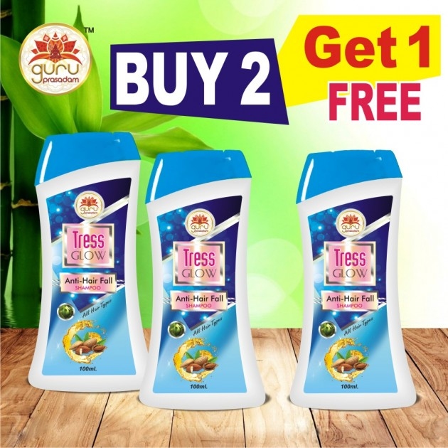 Tress Glow Anti Hair Fall Shampoo - Promotional Offer