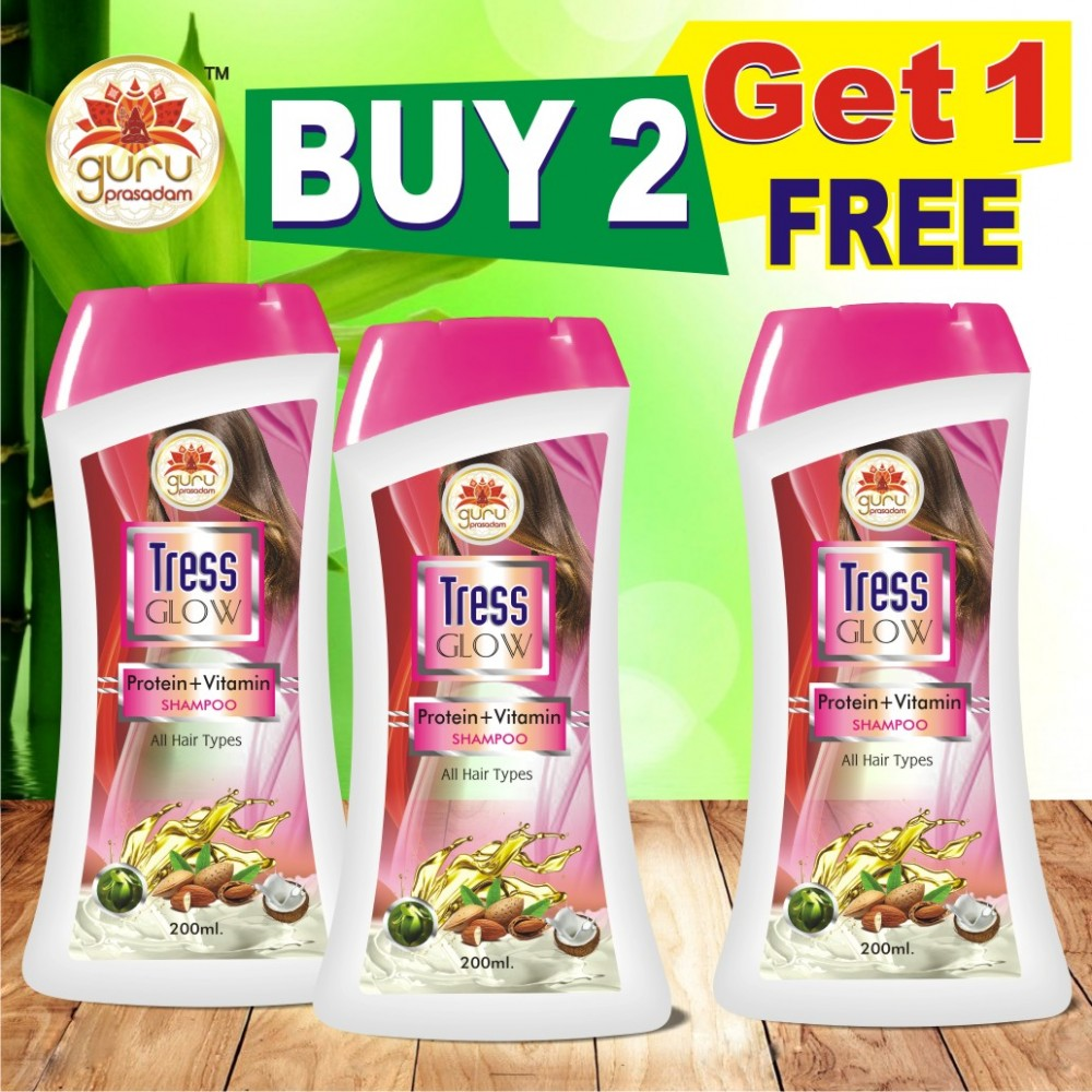Tress Glow Protein + Vitamin Shampoo - Promotional Offer