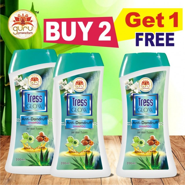 Tress Glow Anti Dandruff Shampoo - Promotional Offer