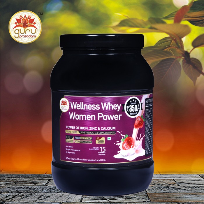 Wellness Whey Women Power Strawberry Fla...